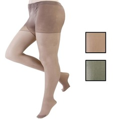 Run Resistant Tights With Gusset, 20 Denier (3 Pair Pack)
