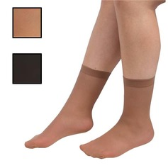 15 Denier Ankle Socks (Pack of 3 Pairs)