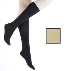 Cotton Rich Graduated Compression Socks
