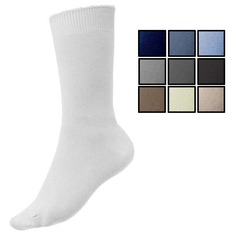 Women's Cotton Rich Loose Top Socks