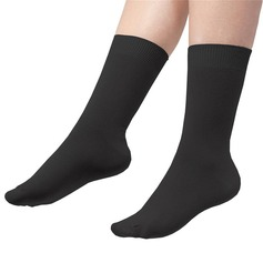 Women's Cotton Rich Loose Top Socks
