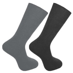 Men's Cotton Rich Loose Top Socks (Pack of 3 Pairs)