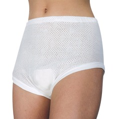 Eyelet Cuffleg Brief