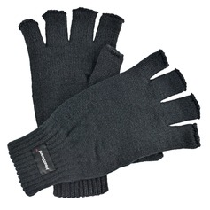Men's Knitted Fingerless Gloves