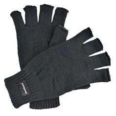 Men's Knitted Fingerless Gloves