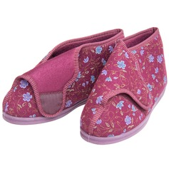 Women's Super-Wide 'Betty' Bootee Slippers