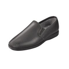 Men's Leather Slip on Slippers