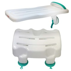 Bath Stool and Surefoot Bath Board