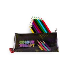 Colour Therapy Pencils (case of 10) + Pencil sharpener