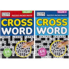 Cross Word Book Volume 1