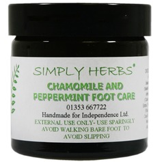 Mint And Chamomile Foot Balm