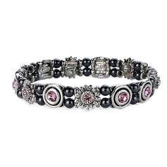 Magnetic Bracelet 'Pink Champagne'