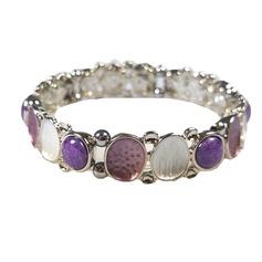 Magnetic Bracelet 'Lilac Rose'