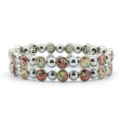 Magnetic Bracelet 'Vintage Rose' (MH-1101)