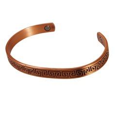 Magnetic Copper Bracelet 'Eros'