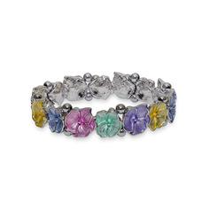 Magnetic Bracelet 'Floral Garland'
