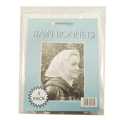 Rain Bonnets (3 Pack)